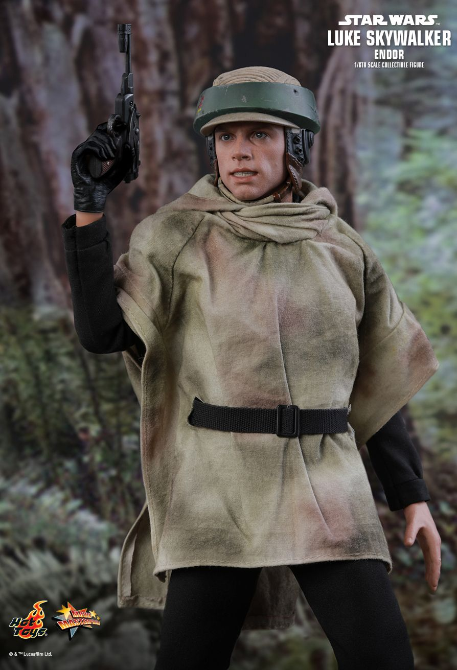 returnofthejedi - NEW PRODUCT: HOT TOYS: STAR WARS: RETURN OF THE JEDI LUKE SKYWALKER (ENDOR) 1/6TH SCALE COLLECTIBLE FIGURE 4117