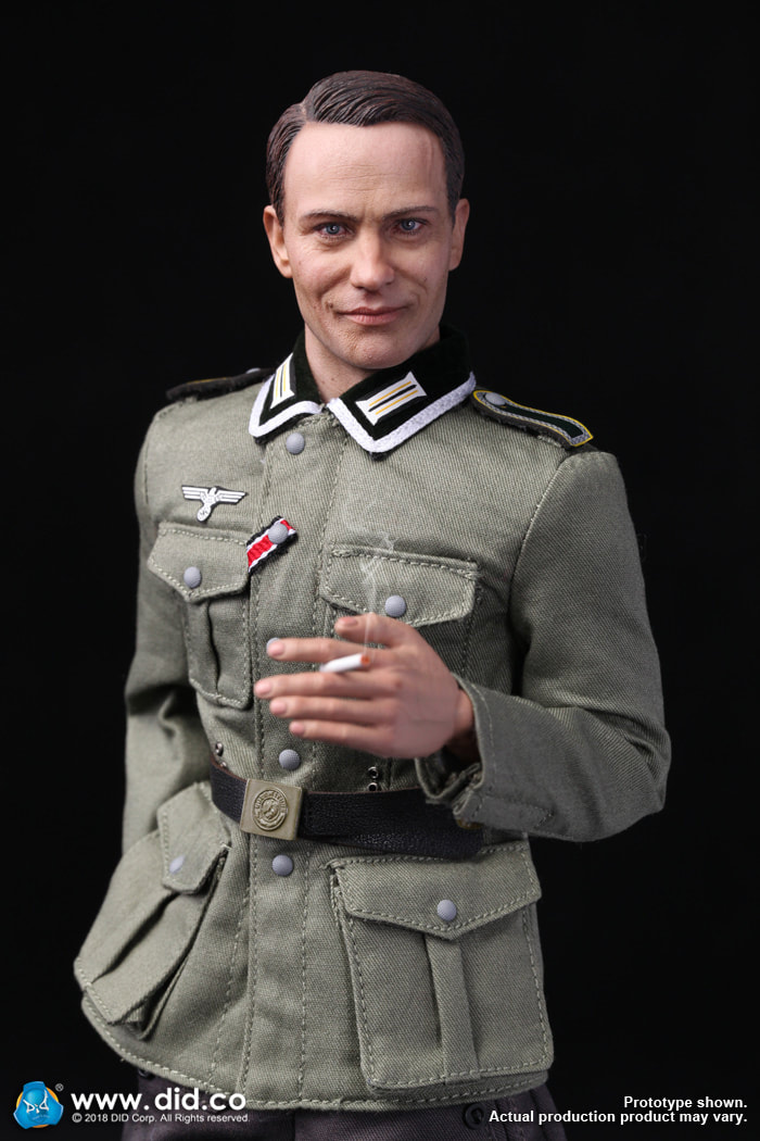 DiD - NEW PRODUCT: Gerd - WH Radio Operator - WWII German Communications Series 3 - DiD 1/6 Scale Figure 4122