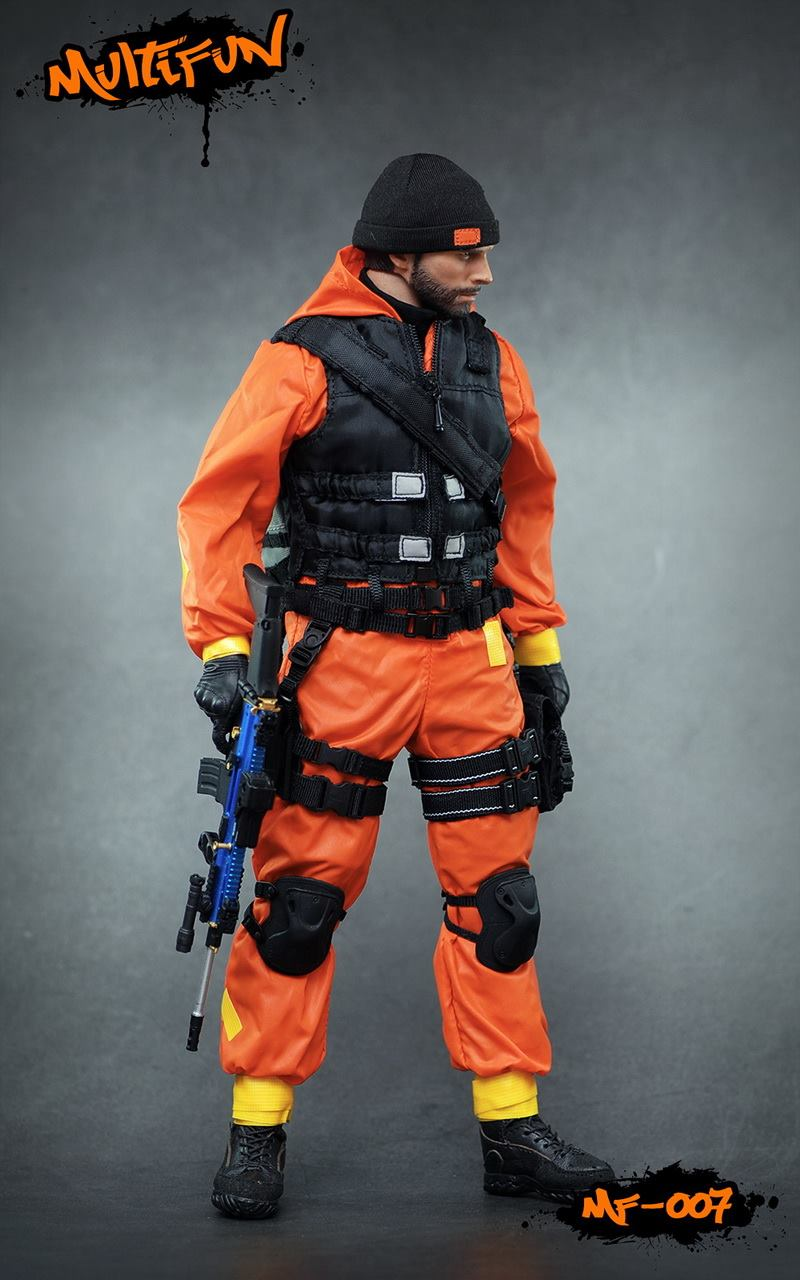 NEW PRODUCT: MULTIFUN 1/6th scale Quarantine Zone Agent 12-inch action figure Set 4127