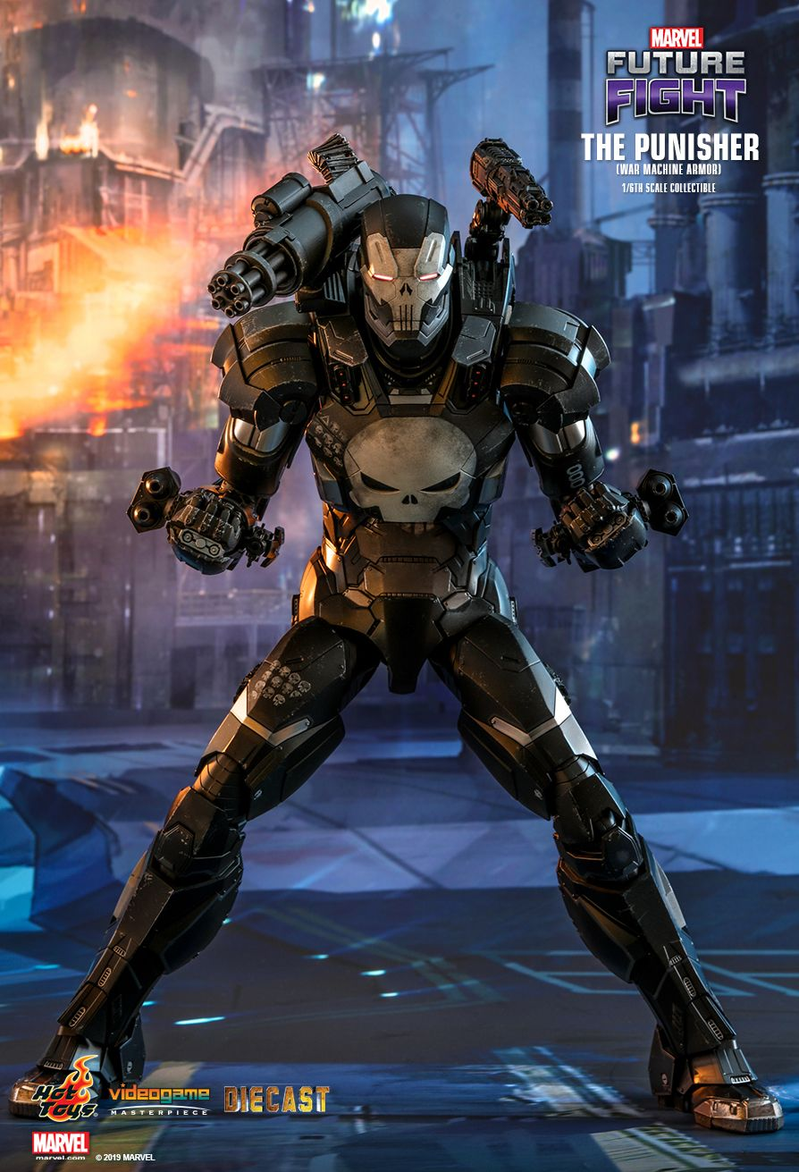 Videogame - NEW PRODUCT: HOT TOYS: MARVEL FUTURE FIGHT THE PUNISHER (WAR MACHINE ARMOR) 1/6TH SCALE COLLECTIBLE FIGURE 4140