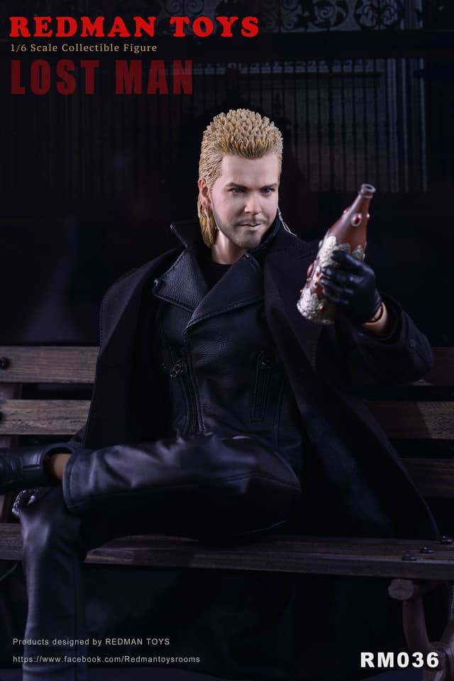 NEW PRODUCT: [RMT-036] The Lost Man 1:6 Collectible Figure by Redman 4141