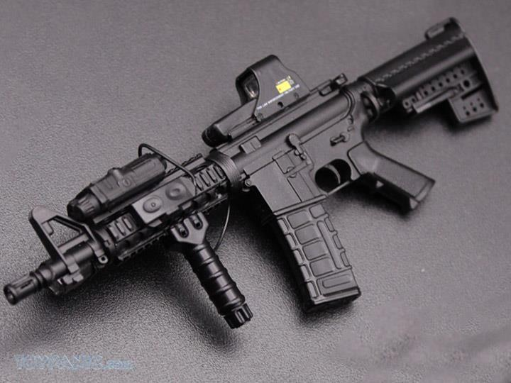 minitimes - NEW PRODUCT: MINI TIMES TOYS: 1/6 scale MR & HK416 weapons sets 41520210