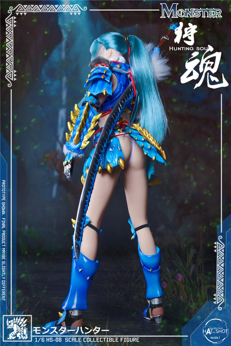fantasy - NEW PRODUCT: HATSHOT: [HS-08] 1:6 Hunting Soul Doll Version Figure Accessories & [HS-08D] 1:6 Hunting Soul Doll & Platform Version Figure Accessories 4168