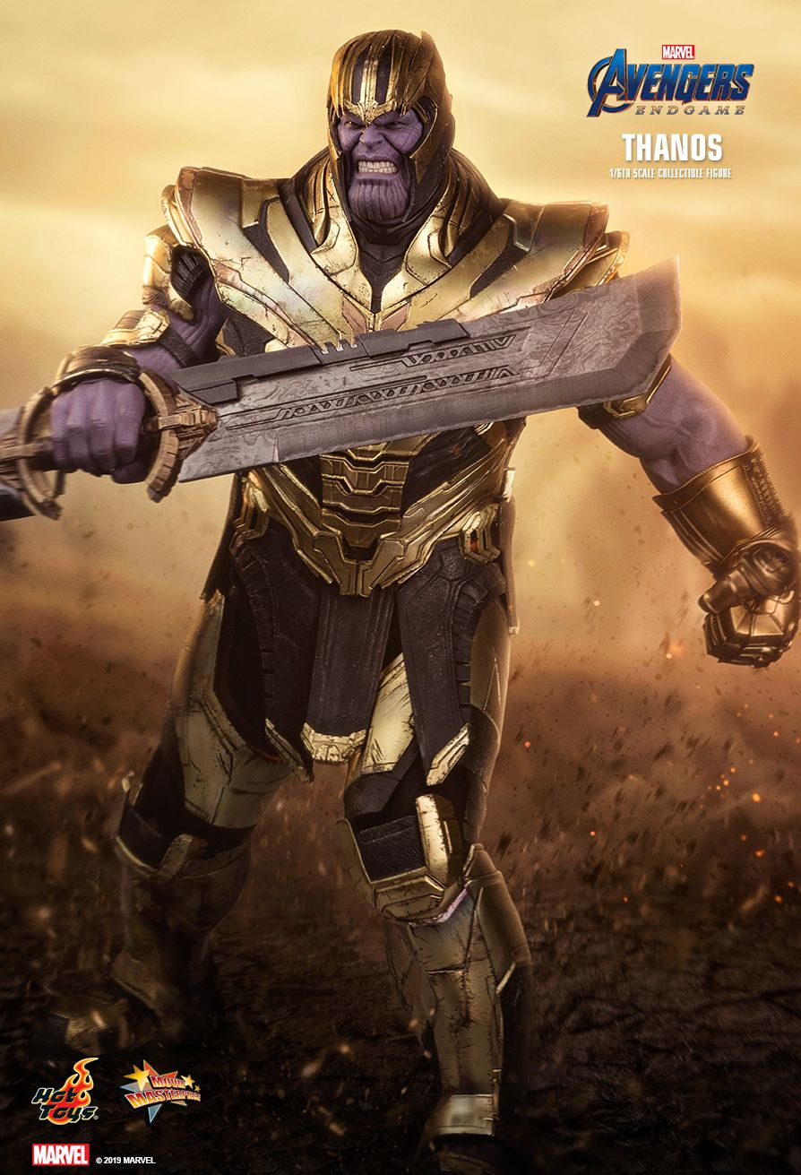 Thanos - NEW PRODUCT: HOT TOYS: AVENGERS: ENDGAME THANOS 1/6TH SCALE COLLECTIBLE FIGURE 4181