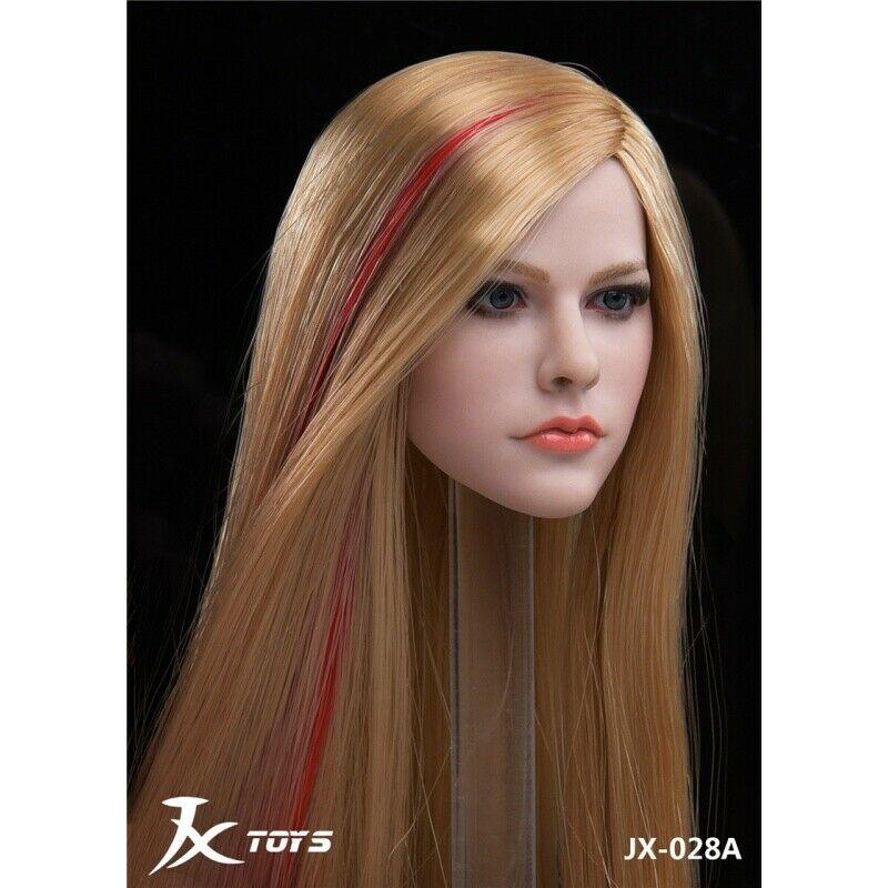 NEW PRODUCT: JXTOYS JX-029 Avril Head Sculpt H#Suntan 4190