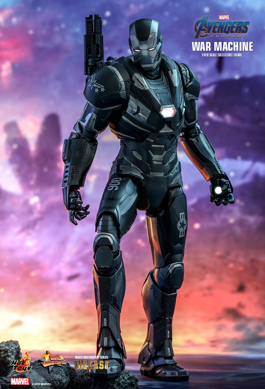 WarMachine - NEW PRODUCT: HOT TOYS: AVENGERS: ENDGAME WAR MACHINE 1/6TH SCALE COLLECTIBLE FIGURE 4191