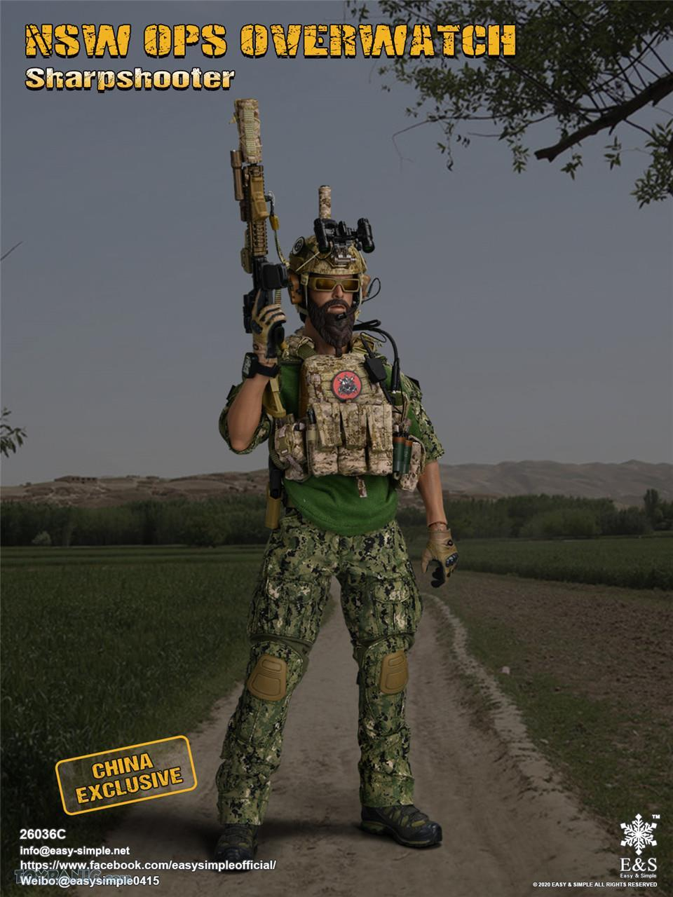 modernmilitary - NEW PRODUCT: Easy & Simple: 1/6 SW OPS Overwatch Sharpshooter (China Exclusive Version) 41920210