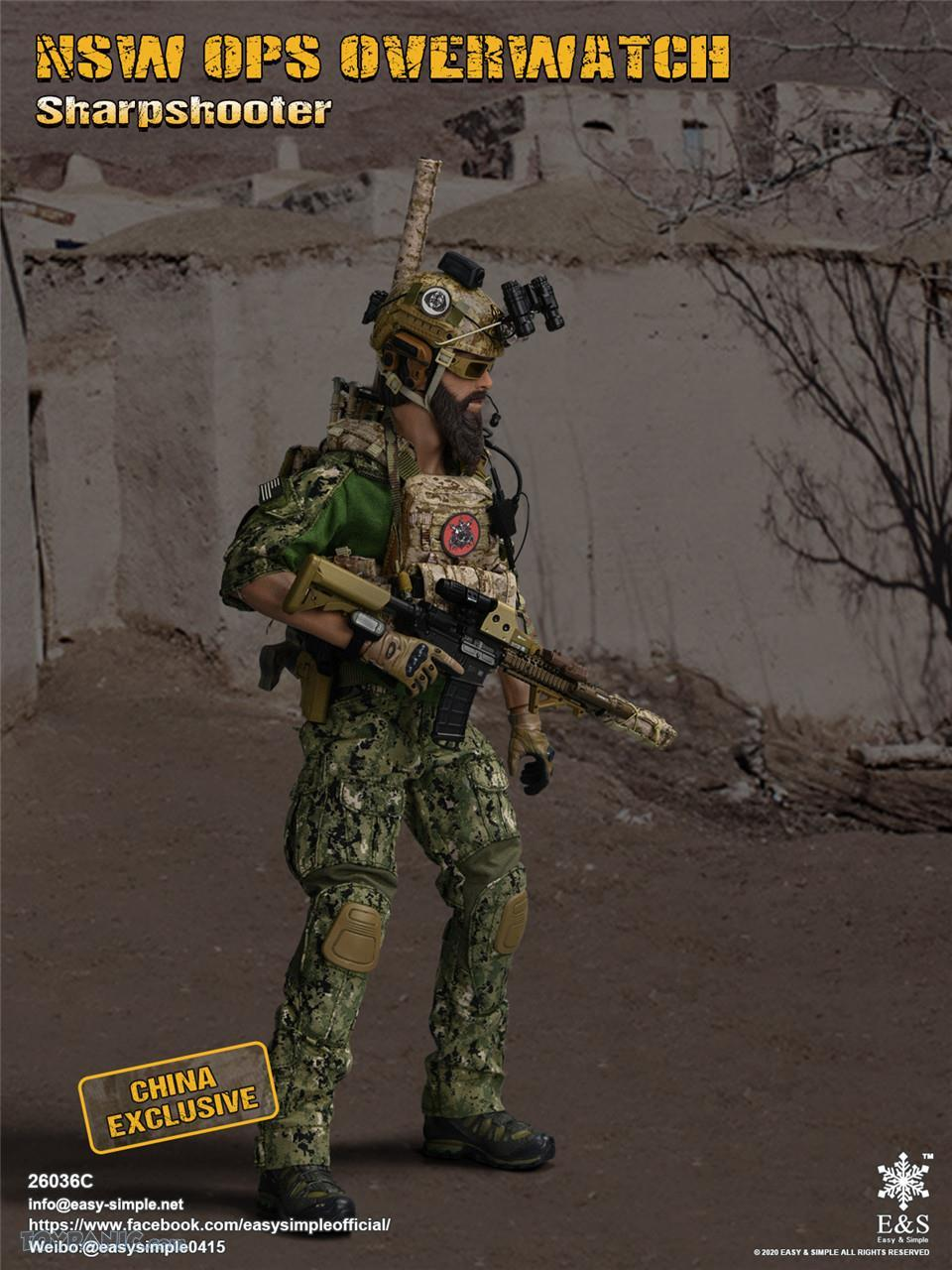 modernmilitary - NEW PRODUCT: Easy & Simple: 1/6 SW OPS Overwatch Sharpshooter (China Exclusive Version) 41920211