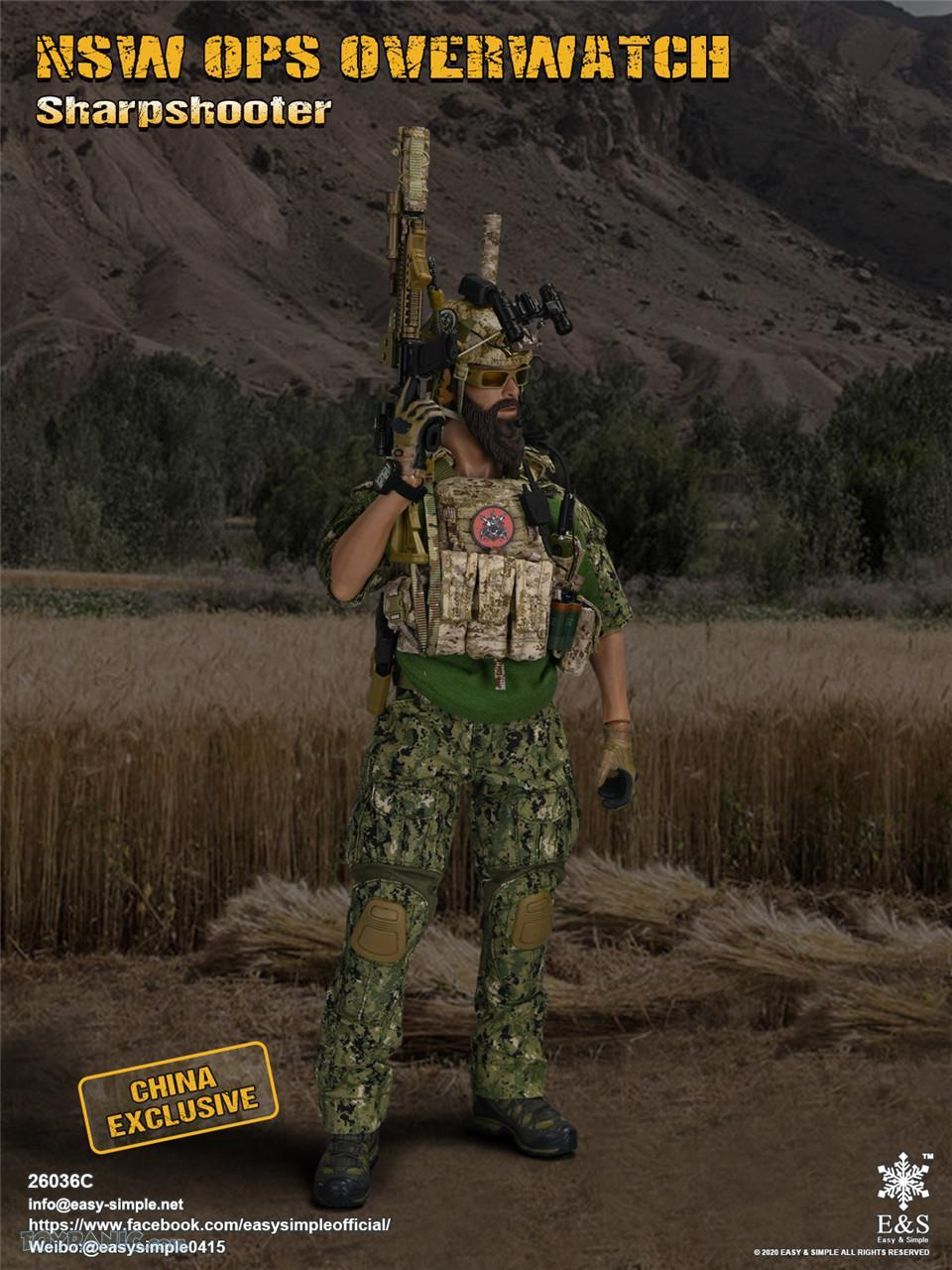 modernmilitary - NEW PRODUCT: Easy & Simple: 1/6 SW OPS Overwatch Sharpshooter (China Exclusive Version) 41920217