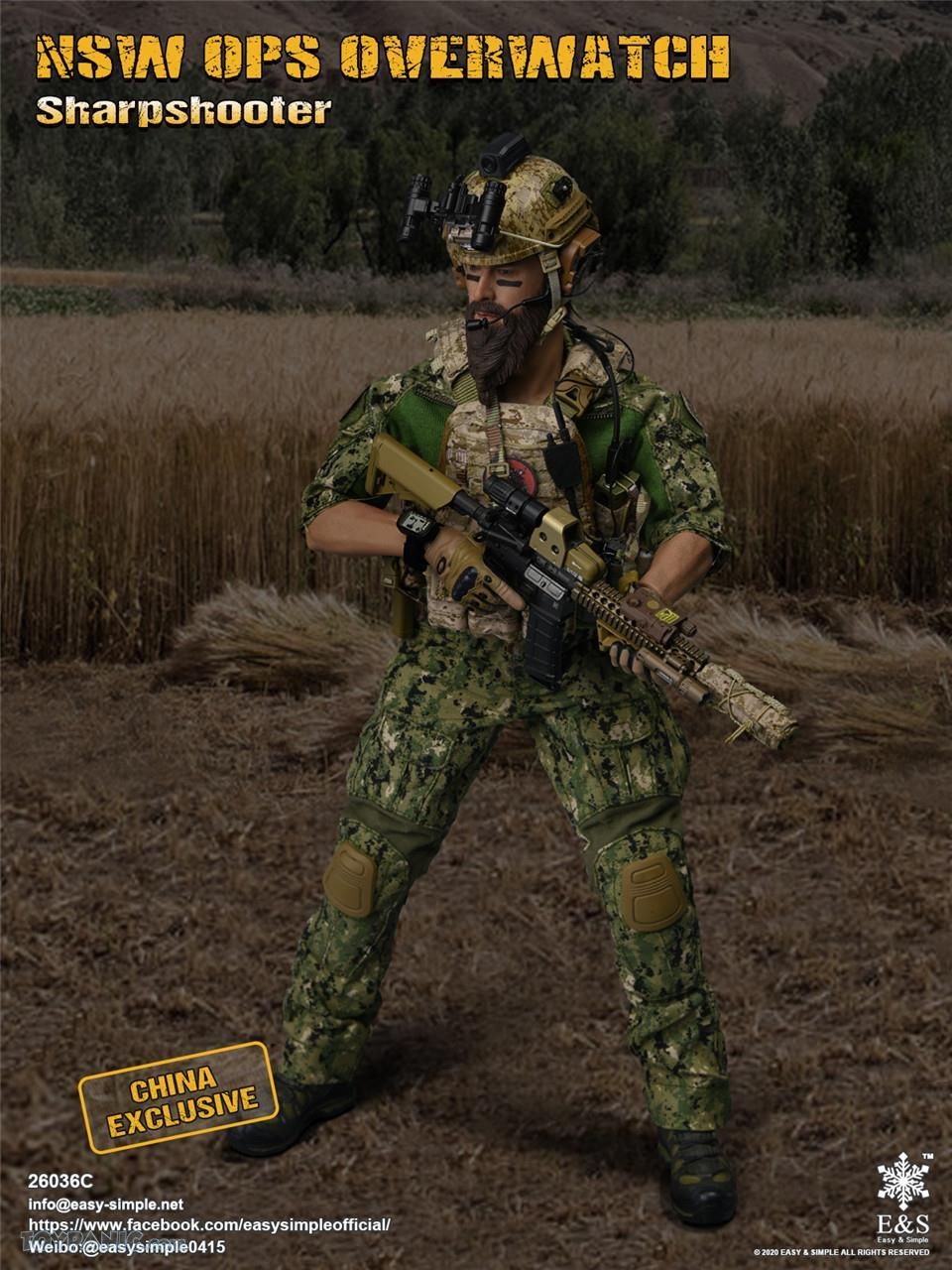 modernmilitary - NEW PRODUCT: Easy & Simple: 1/6 SW OPS Overwatch Sharpshooter (China Exclusive Version) 41920220