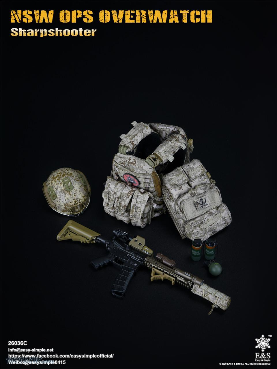 modernmilitary - NEW PRODUCT: Easy & Simple: 1/6 SW OPS Overwatch Sharpshooter (China Exclusive Version) 41920232