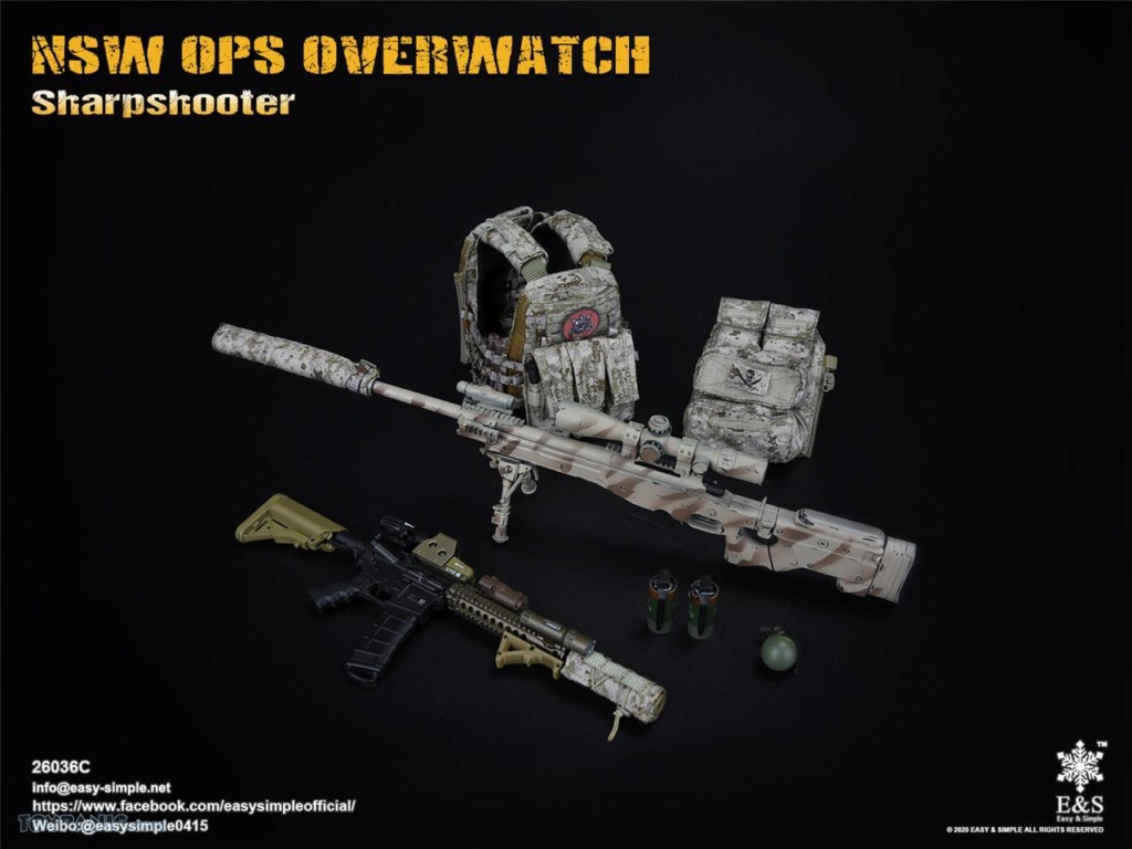 modernmilitary - NEW PRODUCT: Easy & Simple: 1/6 SW OPS Overwatch Sharpshooter (China Exclusive Version) 41920233