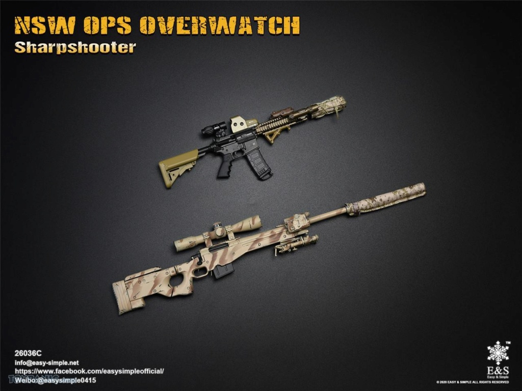 modernmilitary - NEW PRODUCT: Easy & Simple: 1/6 SW OPS Overwatch Sharpshooter (China Exclusive Version) 41920234