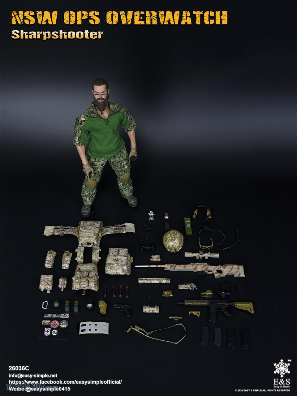 modernmilitary - NEW PRODUCT: Easy & Simple: 1/6 SW OPS Overwatch Sharpshooter (China Exclusive Version) 41920238