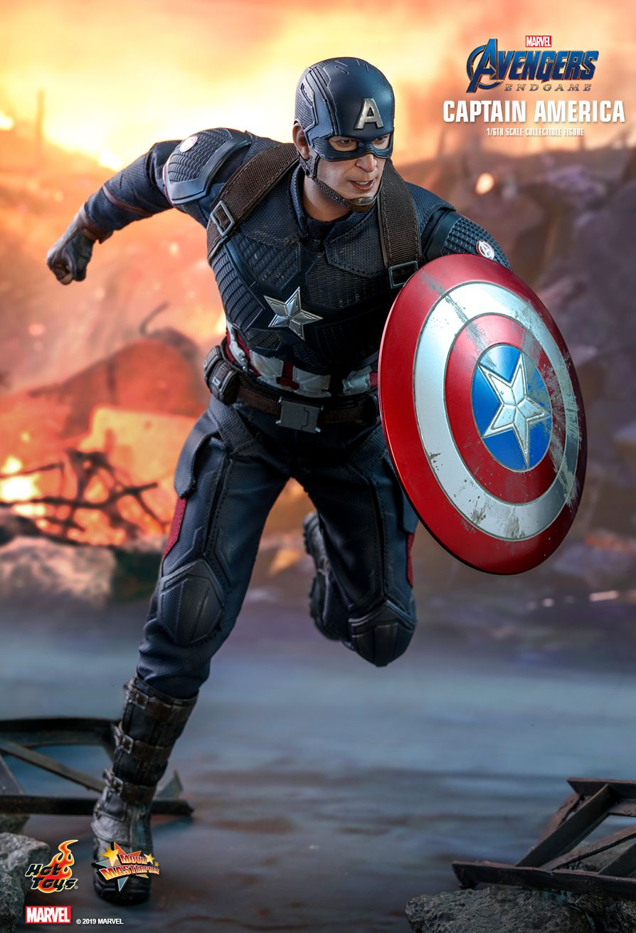 captainamerica - NEW PRODUCT: HOT TOYS: AVENGERS: ENDGAME CAPTAIN AMERICA 1/6TH SCALE COLLECTIBLE FIGURE 4198