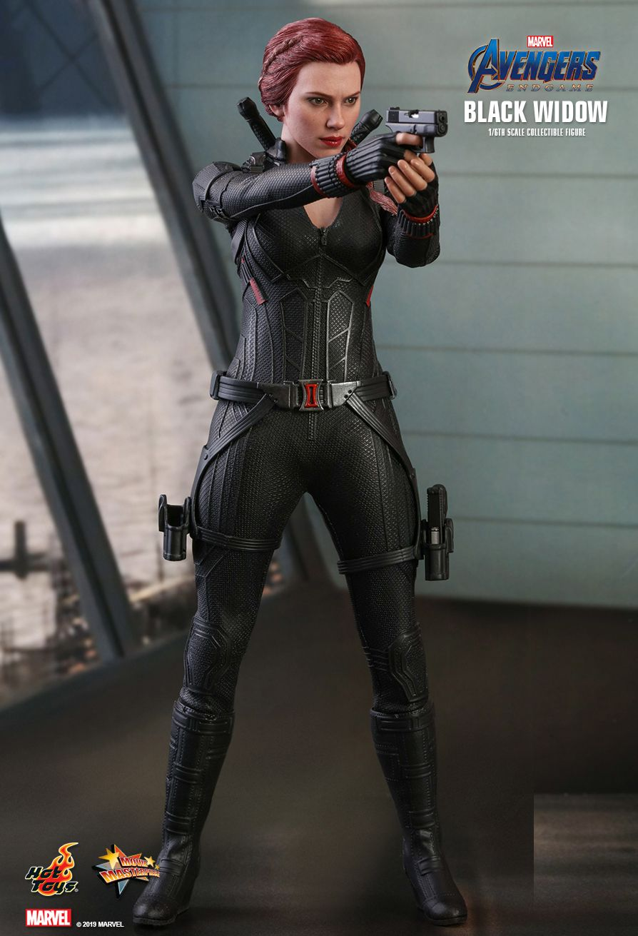EndGame - NEW PRODUCT: HOT TOYS: AVENGERS: ENDGAME BLACK WIDOW 1/6TH SCALE COLLECTIBLE FIGURE 4199