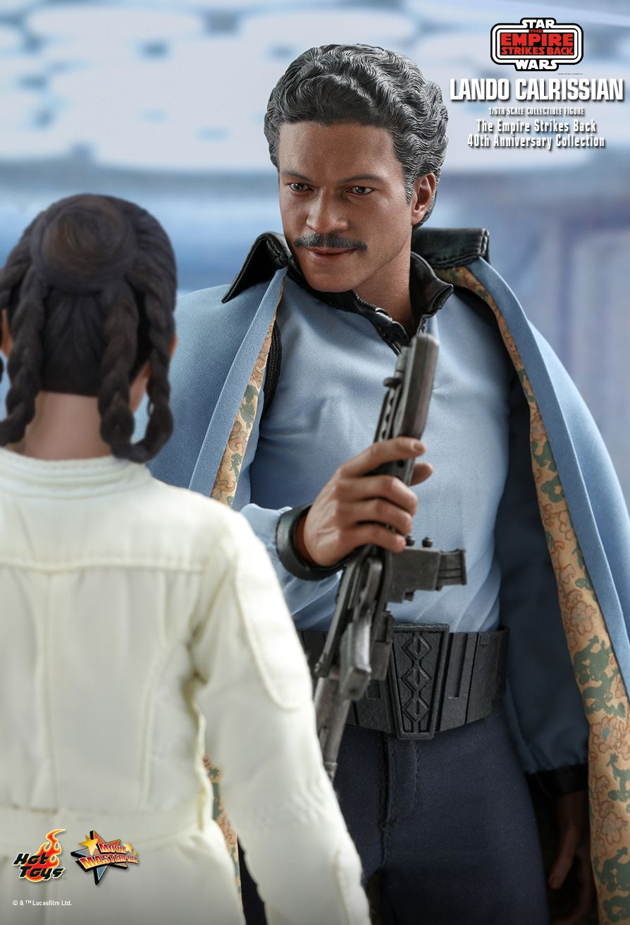 movie - NEW PRODUCT: HOT TOYS: STAR WARS: THE EMPIRE STRIKES BACK™ LANDO CALRISSIAN™ (STAR WARS: THE EMPIRE STRIKES BACK 40TH ANNIVERSARY COLLECTION) 1/6TH SCALE COLLECTIBLE FIGURE 41e77f10