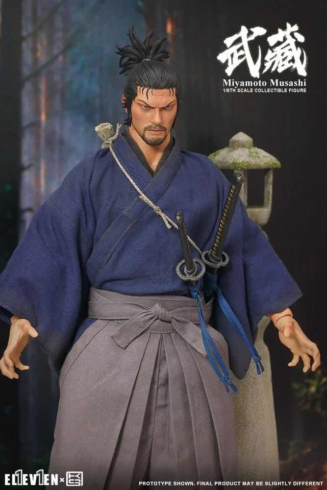 NEW PRODUCT: Eleven X KAI Musashi 1/6 Scale Figure 4209
