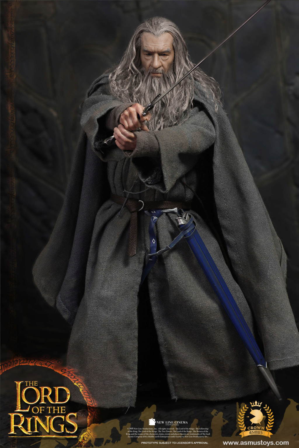 lordoftherings - NEW PRODUCT: ASMUS TOYS THE CROWN SERIES : GANDALF THE GREY 1/6 figure 4235