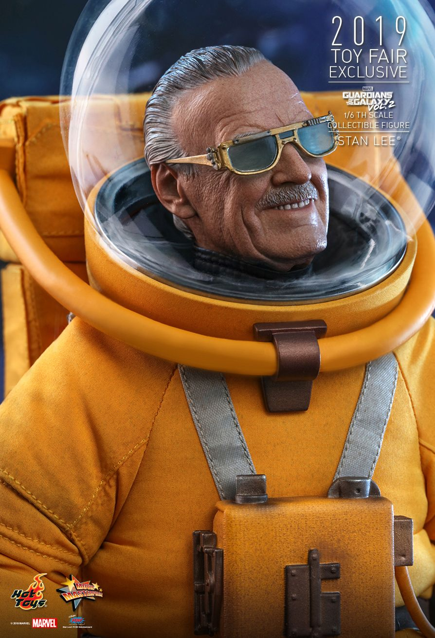 NEW PRODUCT: HOT TOYS: GUARDIANS OF THE GALAXY VOL. 2 STAN LEE® 1/6TH SCALE COLLECTIBLE FIGURE 4245