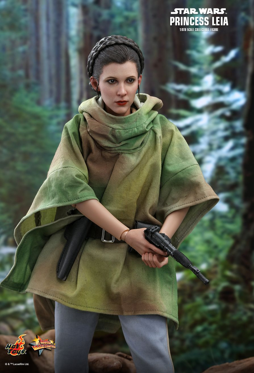 NEW PRODUCT: HOT TOYS: STAR WARS: RETURN OF THE JEDI PRINCESS LEIA 1/6TH SCALE COLLECTIBLE FIGURE 4258