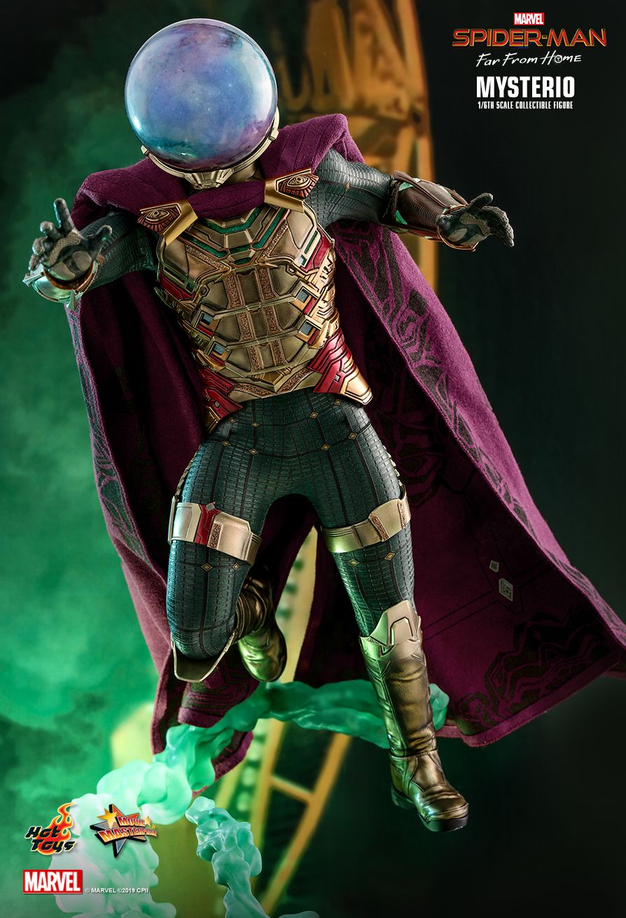 NEW PRODUCT: HOT TOYS: SPIDER-MAN: FAR FROM HOME MYSTERIO 1/6TH SCALE COLLECTIBLE FIGURE 4268