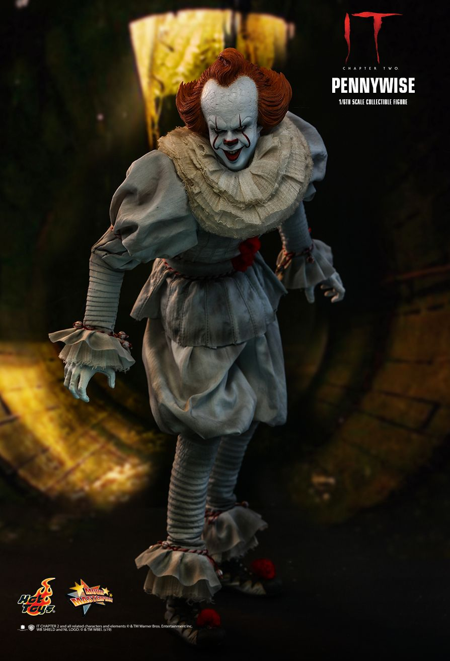 NEW PRODUCT: HOT TOYS: IT CHAPTER TWO PENNYWISE 1/6TH SCALE COLLECTIBLE FIGURE 4269
