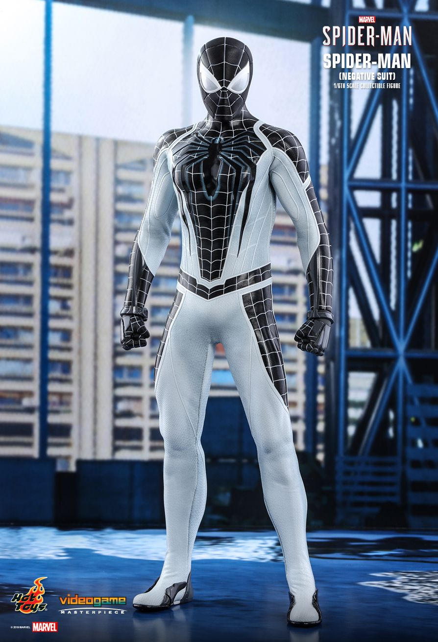 Spider-Man - NEW PRODUCT: HOT TOYS: MARVEL'S SPIDER-MAN SPIDER-MAN (NEGATIVE SUIT) 1/6TH SCALE COLLECTIBLE FIGURE (EXCLUSIVE EDITION) 4286