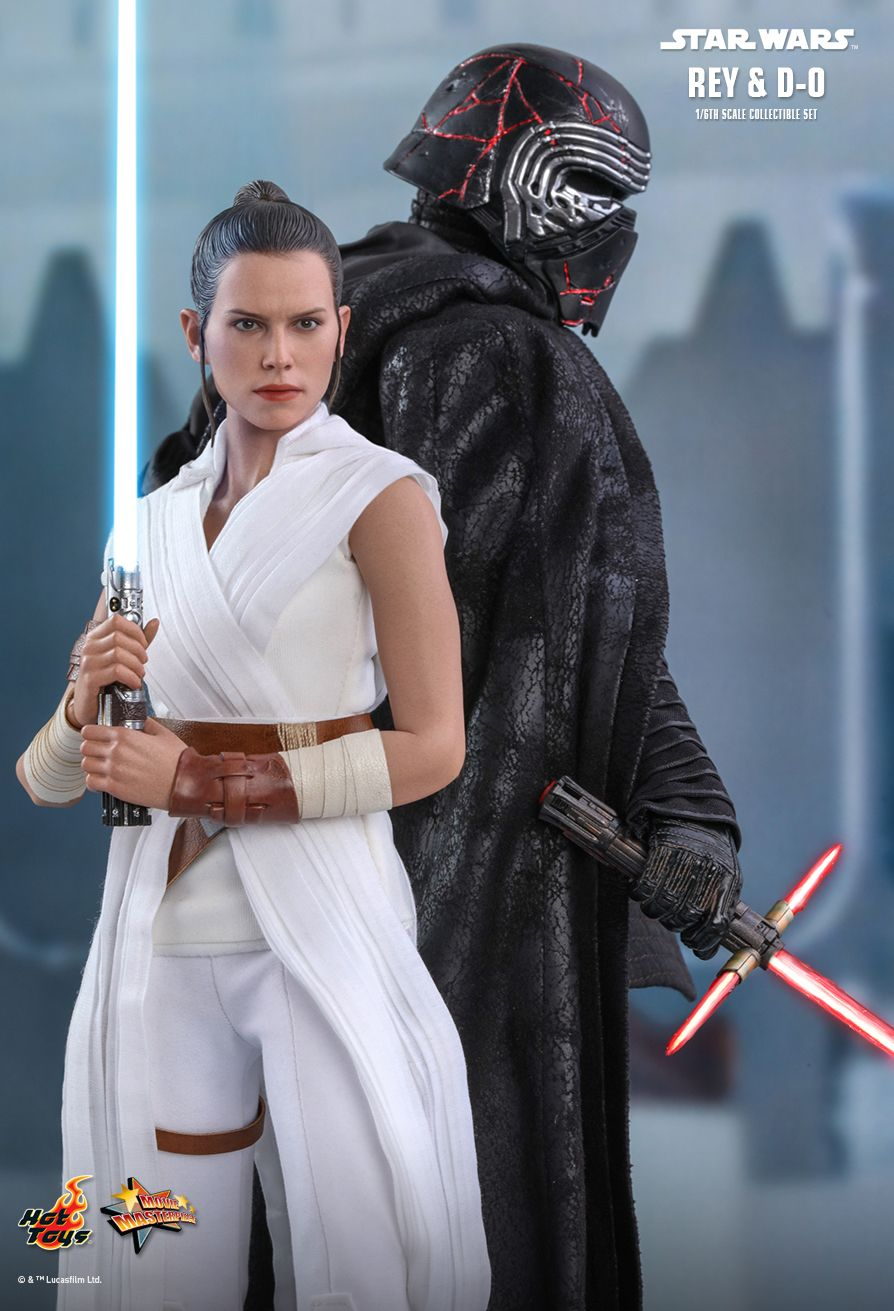 movie - NEW PRODUCT: HOT TOYS: STAR WARS: THE RISE OF SKYWALKER REY AND D-O 1/6TH SCALE COLLECTIBLE FIGURE 4287
