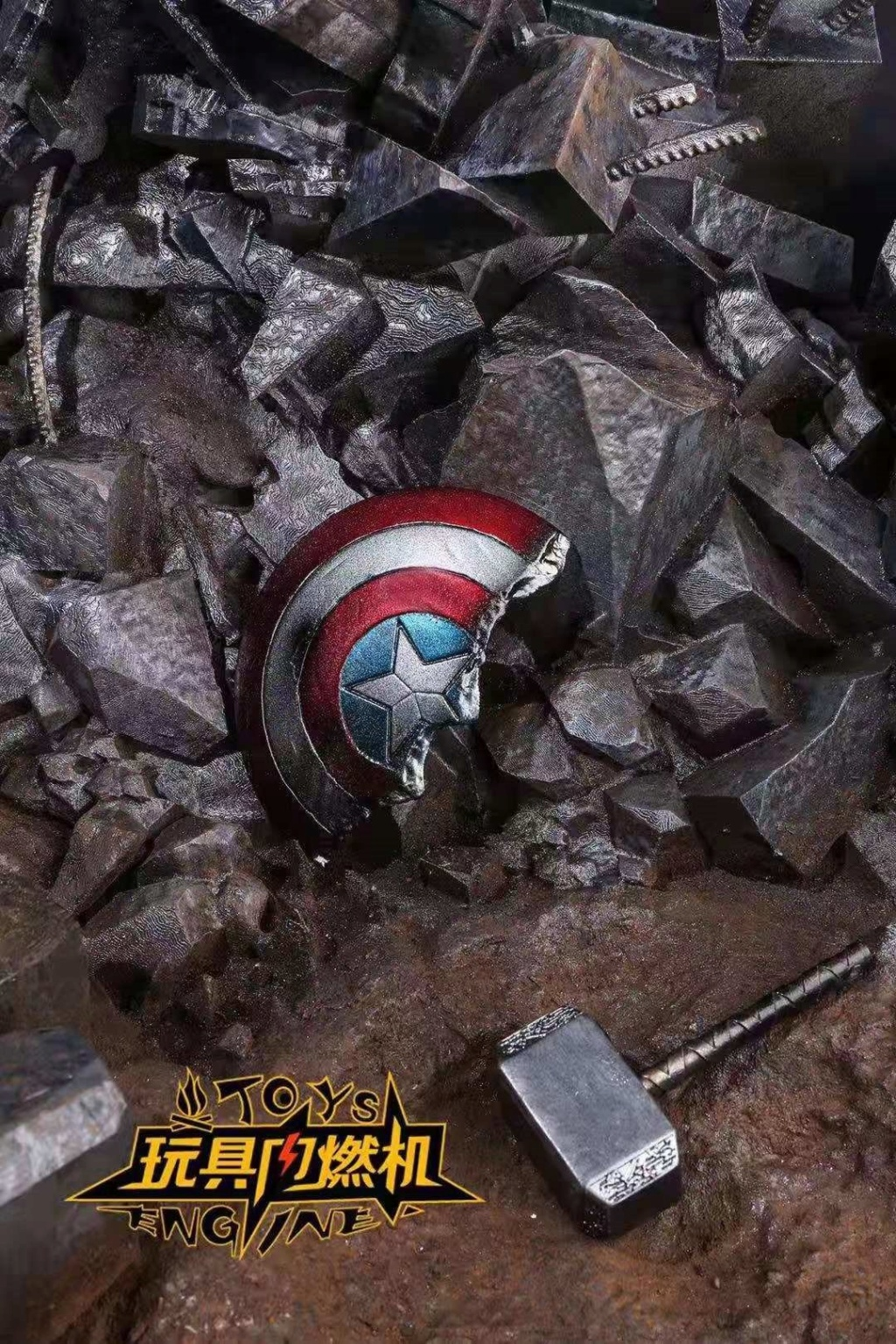 diorama - NEW PRODUCT: Toys Engine : Avengers Endgame Dynamic Stand Final Battle Scene 4288