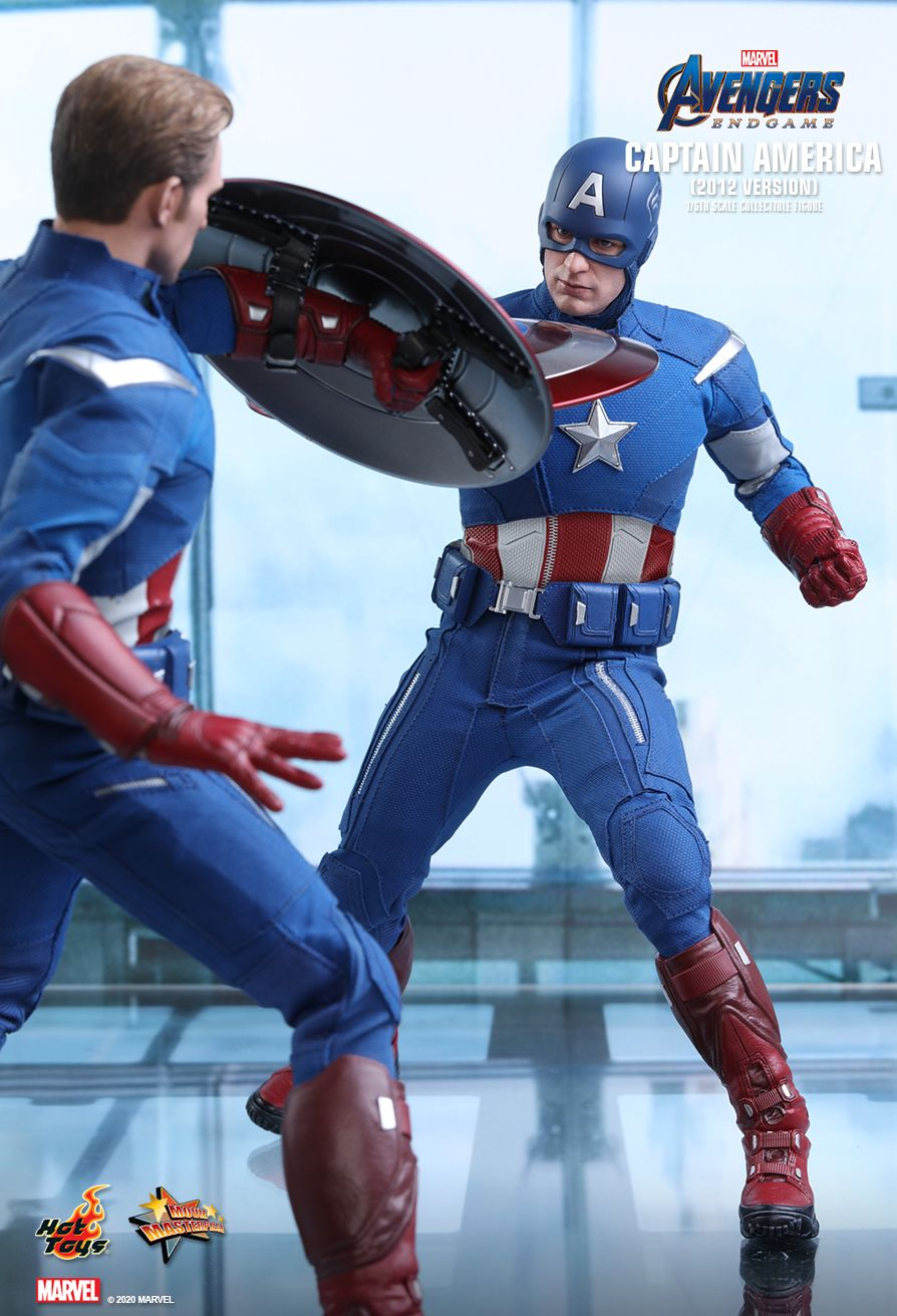movie - NEW PRODUCT: HOT TOYS: AVENGERS: ENDGAME CAPTAIN AMERICA (2012 VERSION) 1/6TH SCALE COLLECTIBLE FIGURE 4302