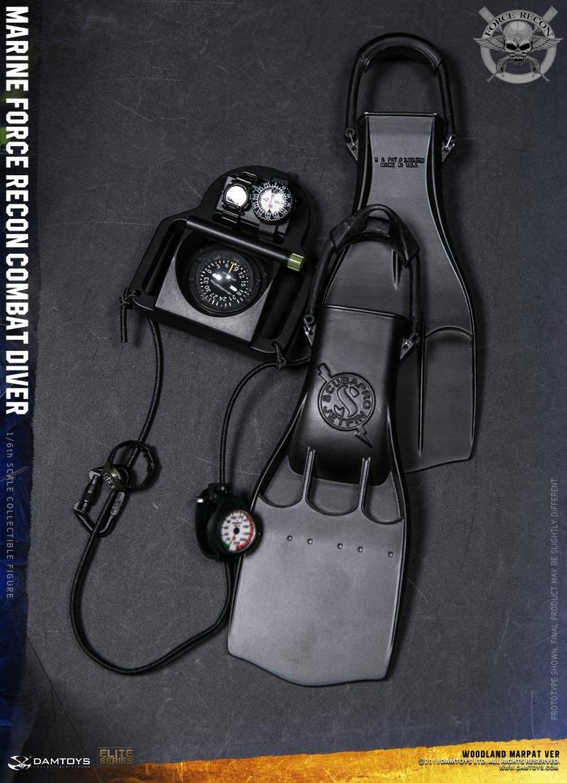 DamToys - NEW PRODUCT: DAM Toys: Marine Force Recon Combat Diver (Desert MARPAT) (GIDAM-78056) & (Woodland MARPAT) (GIDAM-78055) 4311