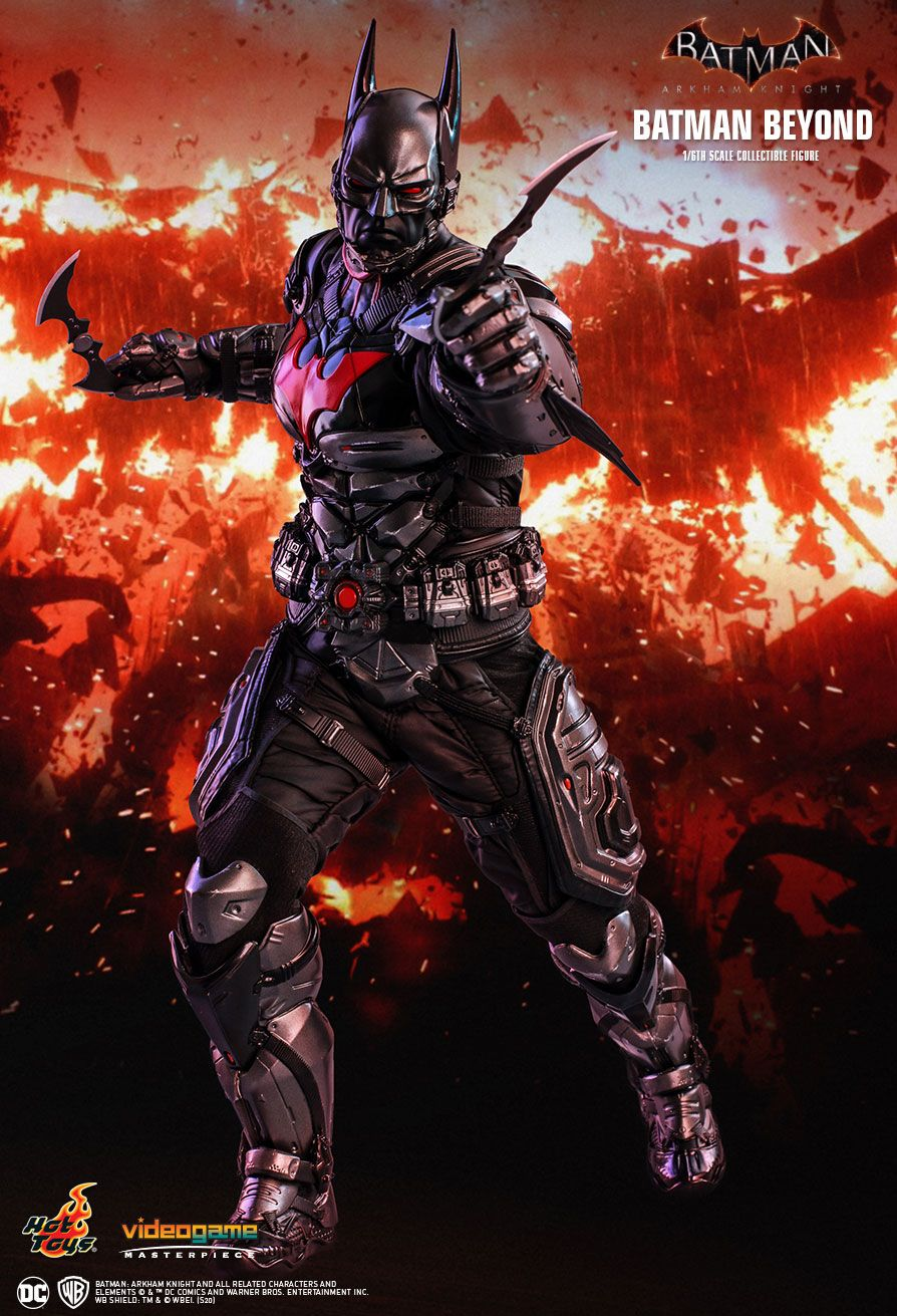 videogame - NEW PRODUCT: HOT TOYS: BATMAN: ARKHAM KNIGHT BATMAN BEYOND 1/6TH SCALE COLLECTIBLE FIGURE 4316