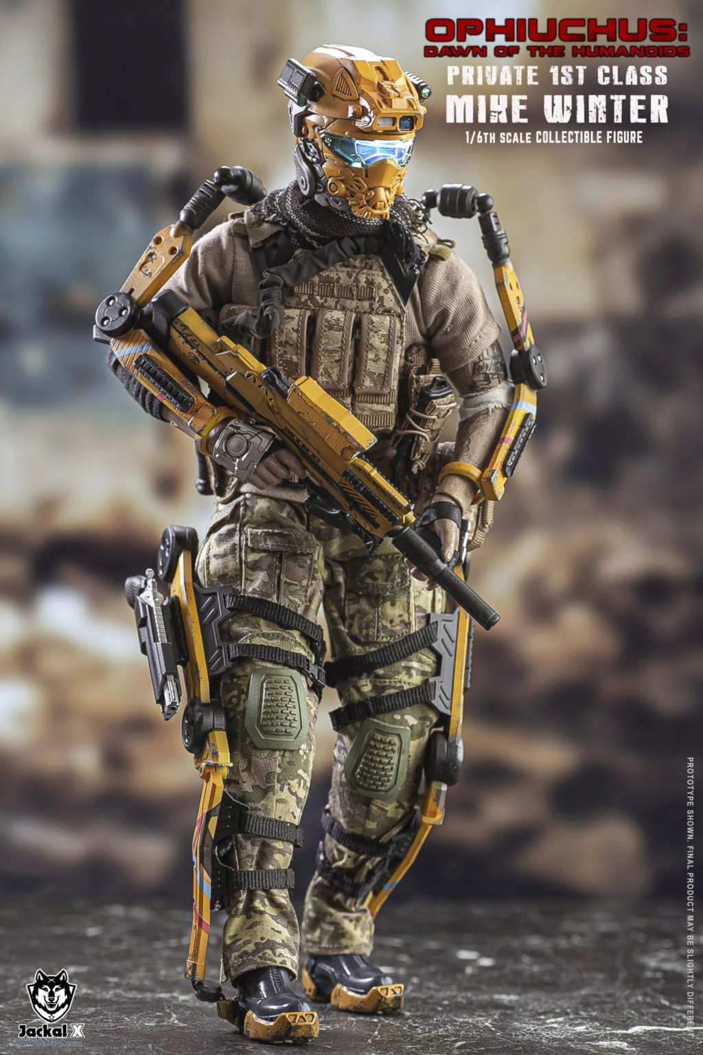 military - NEW PRODUCT: JackalX: 1/6 Ophiuchus: Dawn of Humanoid: Private 1st Class Mike Winter Collectible Figure (2 Versions) 43202014