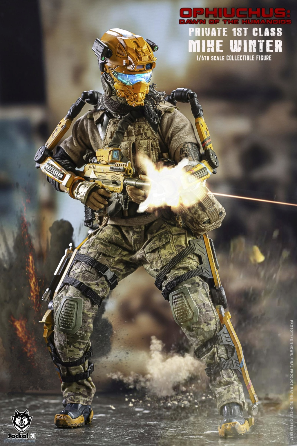 military - NEW PRODUCT: JackalX: 1/6 Ophiuchus: Dawn of Humanoid: Private 1st Class Mike Winter Collectible Figure (2 Versions) 43202015