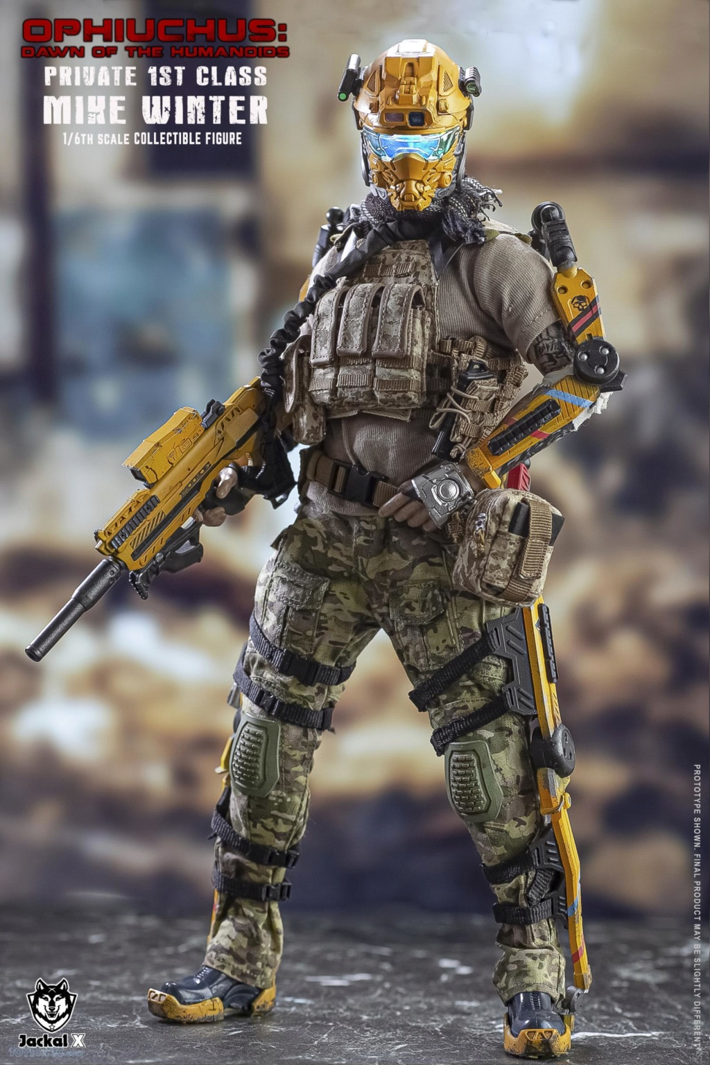 male - NEW PRODUCT: JackalX: 1/6 Ophiuchus: Dawn of Humanoid: Private 1st Class Mike Winter Collectible Figure (2 Versions) 43202016