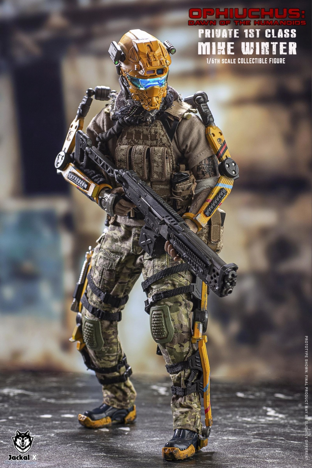 military - NEW PRODUCT: JackalX: 1/6 Ophiuchus: Dawn of Humanoid: Private 1st Class Mike Winter Collectible Figure (2 Versions) 43202018