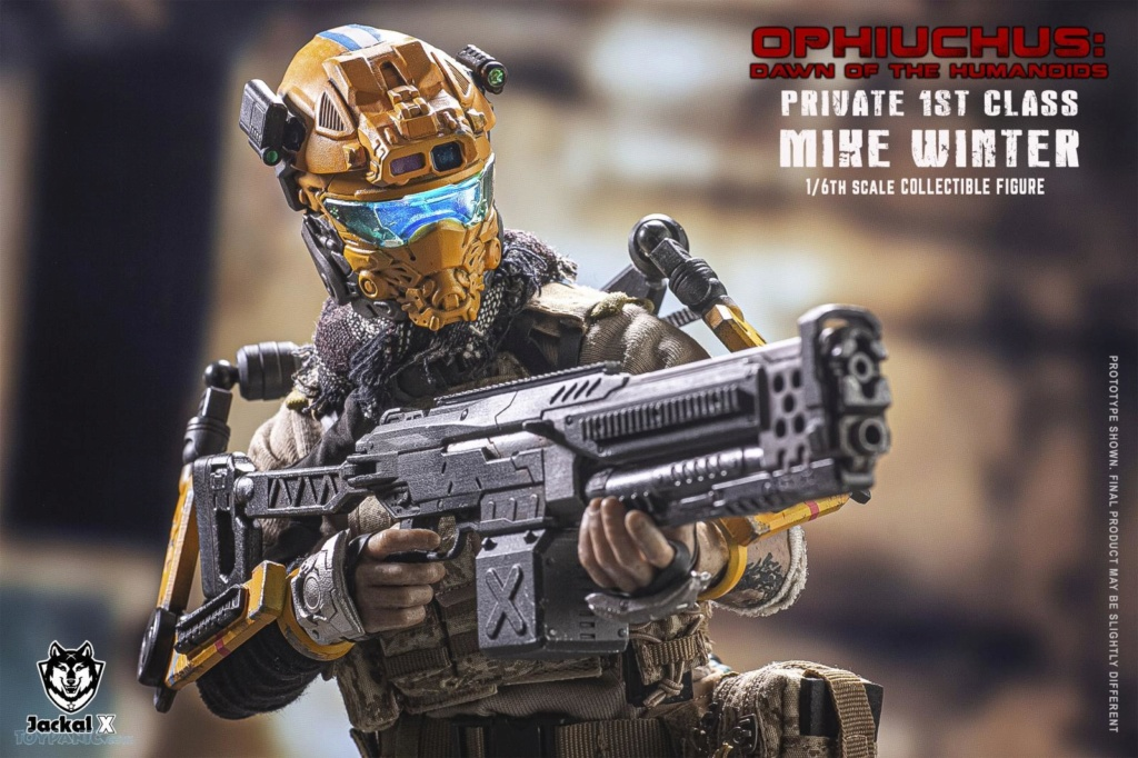 military - NEW PRODUCT: JackalX: 1/6 Ophiuchus: Dawn of Humanoid: Private 1st Class Mike Winter Collectible Figure (2 Versions) 43202019