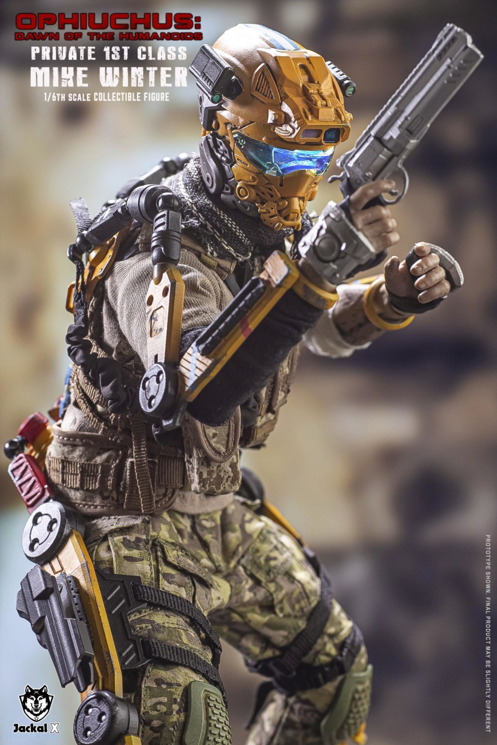 military - NEW PRODUCT: JackalX: 1/6 Ophiuchus: Dawn of Humanoid: Private 1st Class Mike Winter Collectible Figure (2 Versions) 43202020