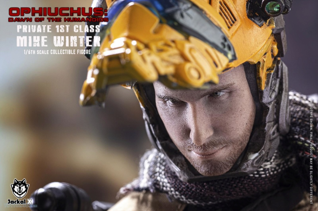male - NEW PRODUCT: JackalX: 1/6 Ophiuchus: Dawn of Humanoid: Private 1st Class Mike Winter Collectible Figure (2 Versions) 43202022