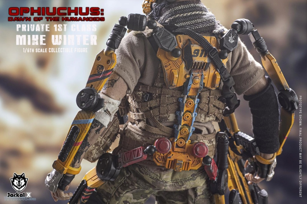 male - NEW PRODUCT: JackalX: 1/6 Ophiuchus: Dawn of Humanoid: Private 1st Class Mike Winter Collectible Figure (2 Versions) 43202023