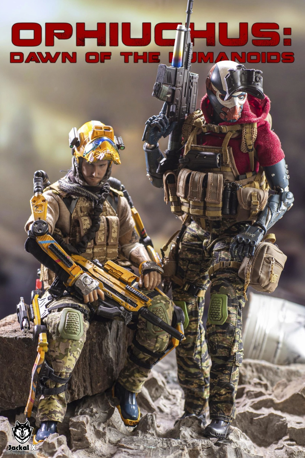 military - NEW PRODUCT: JackalX: 1/6 Ophiuchus: Dawn of Humanoid: Private 1st Class Mike Winter Collectible Figure (2 Versions) 43202027