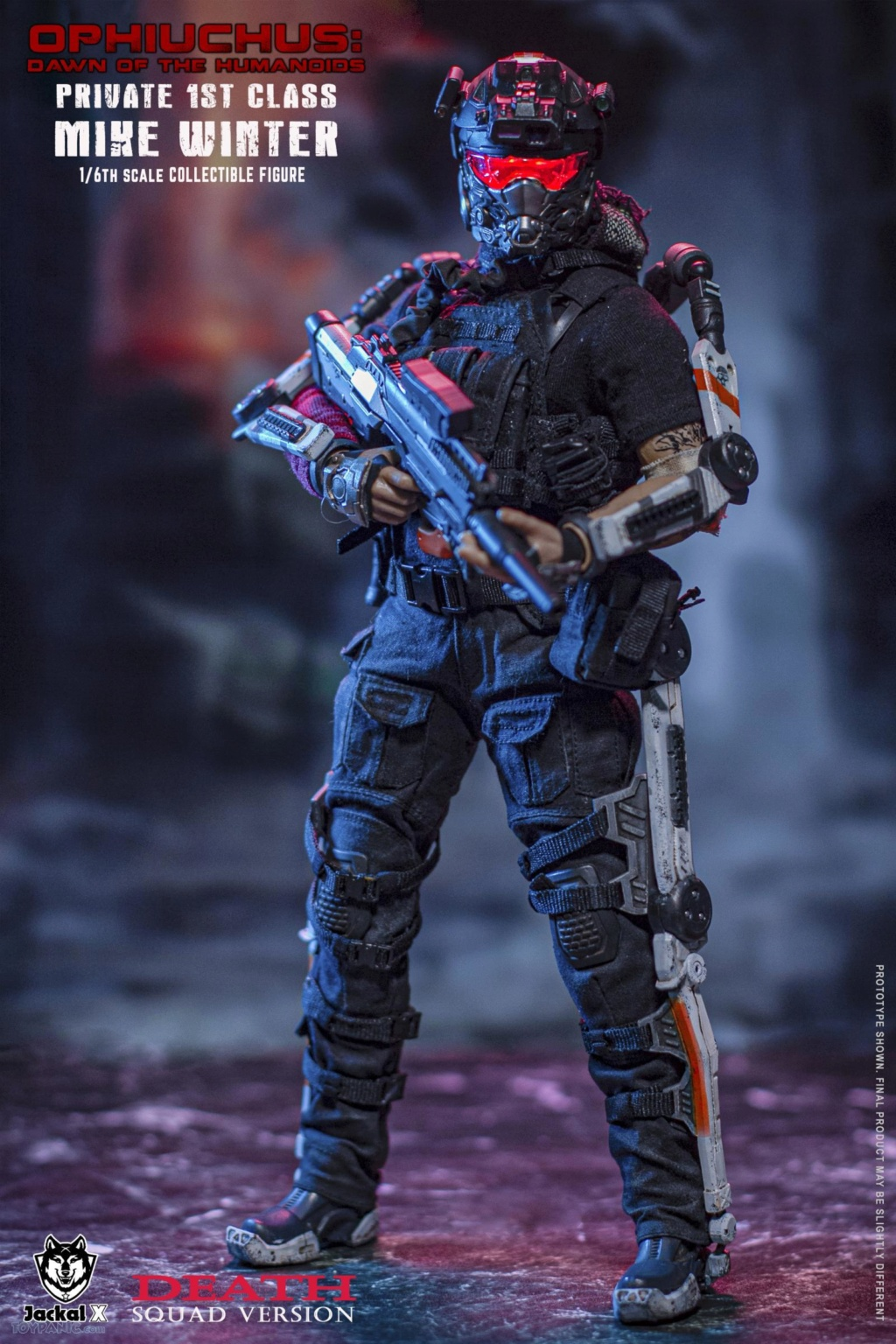 male - NEW PRODUCT: JackalX: 1/6 Ophiuchus: Dawn of Humanoid: Private 1st Class Mike Winter Collectible Figure (2 Versions) 43202032
