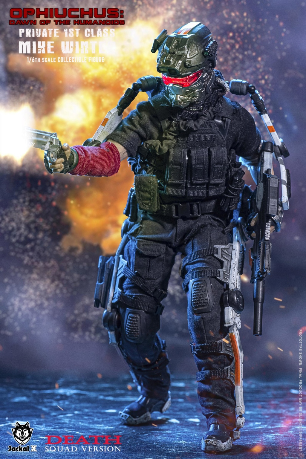 military - NEW PRODUCT: JackalX: 1/6 Ophiuchus: Dawn of Humanoid: Private 1st Class Mike Winter Collectible Figure (2 Versions) 43202033