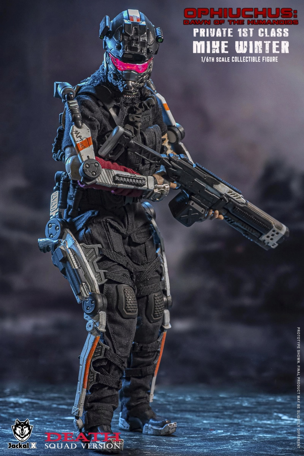 DawnOfHumanoid - NEW PRODUCT: JackalX: 1/6 Ophiuchus: Dawn of Humanoid: Private 1st Class Mike Winter Collectible Figure (2 Versions) 43202035