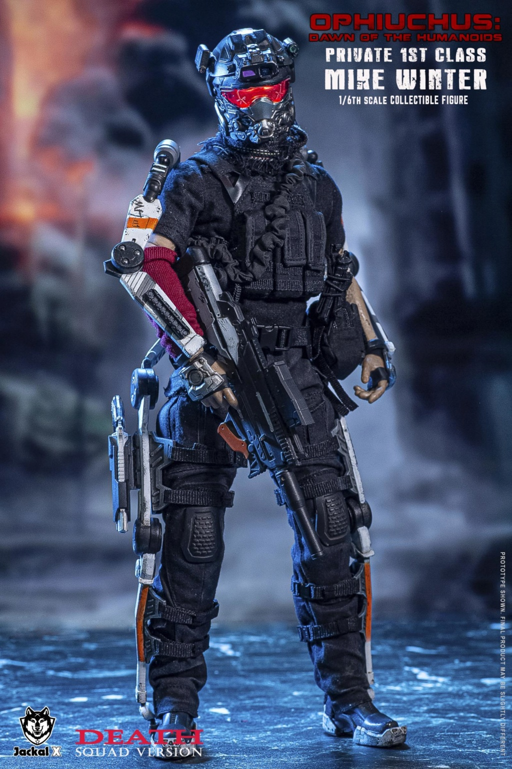 DawnOfHumanoid - NEW PRODUCT: JackalX: 1/6 Ophiuchus: Dawn of Humanoid: Private 1st Class Mike Winter Collectible Figure (2 Versions) 43202039