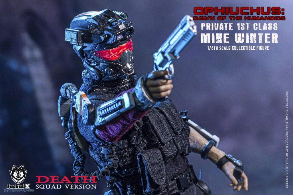DawnOfHumanoid - NEW PRODUCT: JackalX: 1/6 Ophiuchus: Dawn of Humanoid: Private 1st Class Mike Winter Collectible Figure (2 Versions) 43202043