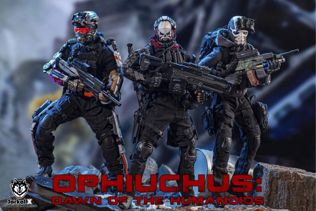 military - NEW PRODUCT: JackalX: 1/6 Ophiuchus: Dawn of Humanoid: Private 1st Class Mike Winter Collectible Figure (2 Versions) 43202047