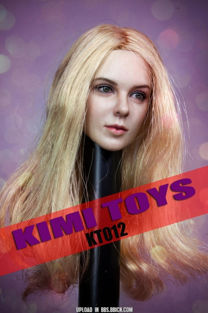 NEW PRODUCT: Kimi Toyz 1:6 European and American Female Headsculpt [KT-012] 434