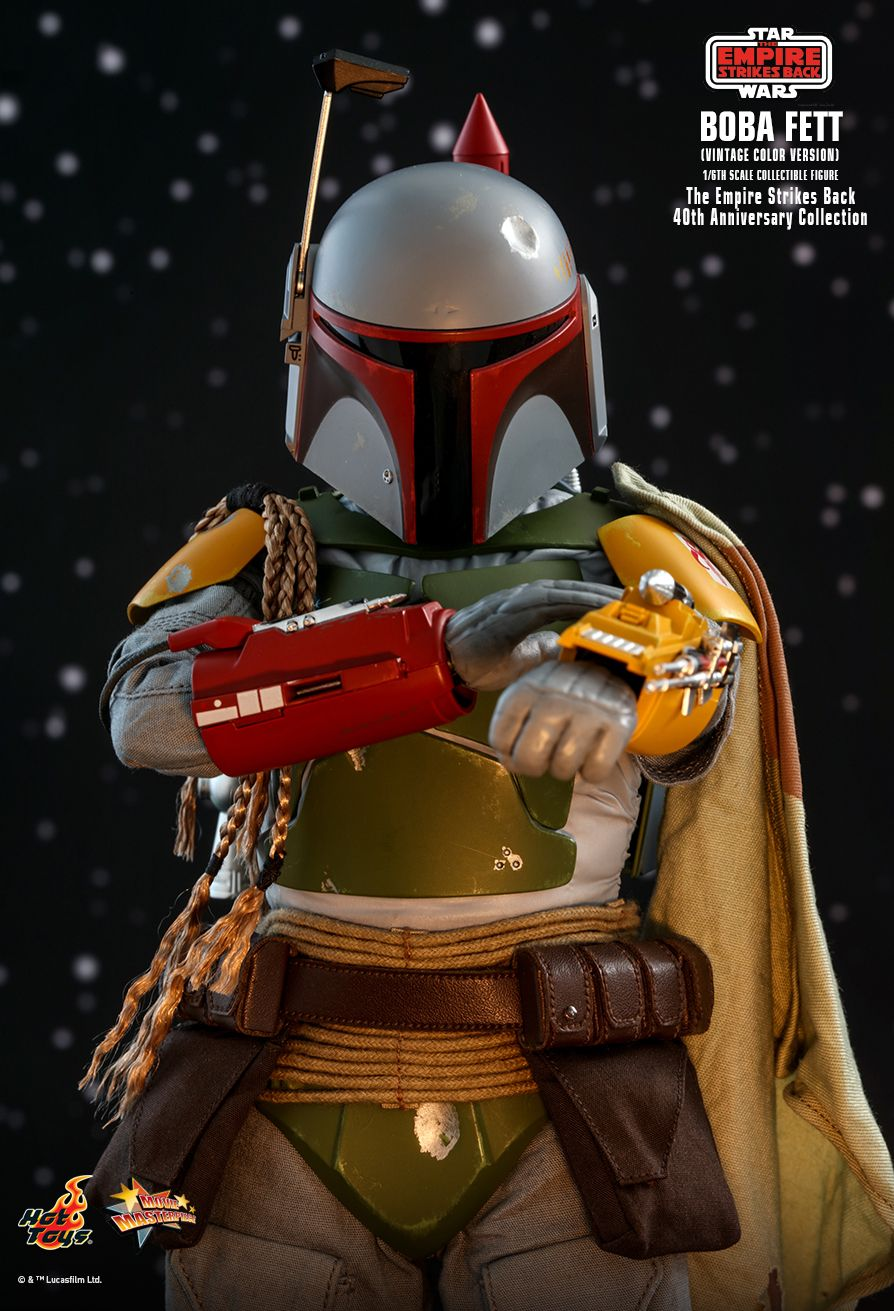 sci-fi - NEW PRODUCT: HOT TOYS: STAR WARS: THE EMPIRE STRIKES BACK™ BOBA FETT™ (VINTAGE COLOR VERSION) (40TH ANNIVERSARY COLLECTION) 1/6TH SCALE COLLECTIBLE FIGURE 4350